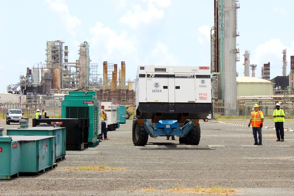 Temporary power generators prepare for critical infrastructures