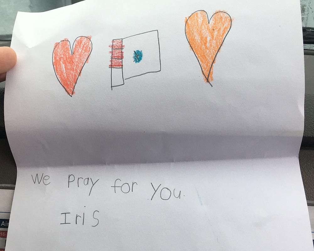 Help from Iris