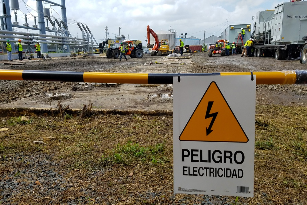 USACE brings power to Puerto Rico