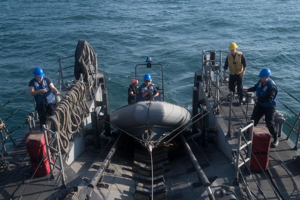 USS Hurricane Conducts War Fighter Training