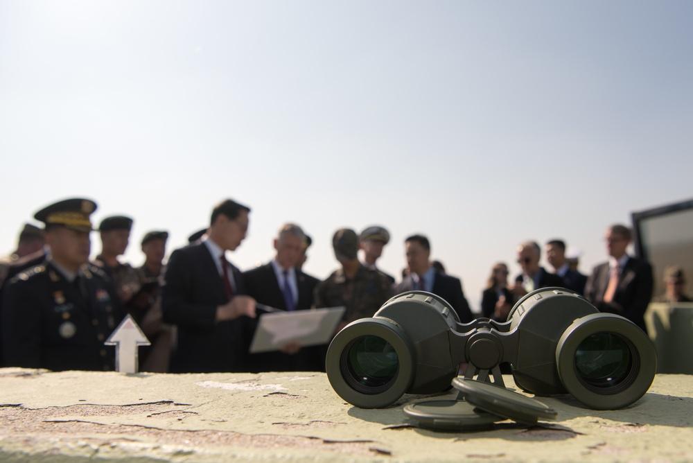 SD and South Korean MinDef visit DMZ