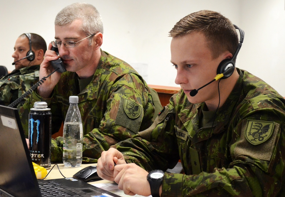 California Army National Guard takes charge of Allied Spirit VII in Hohenfels, Germany