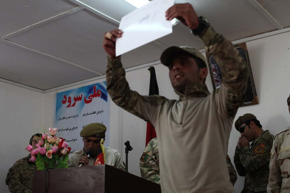 Afghan Special Police Training Center Graduation