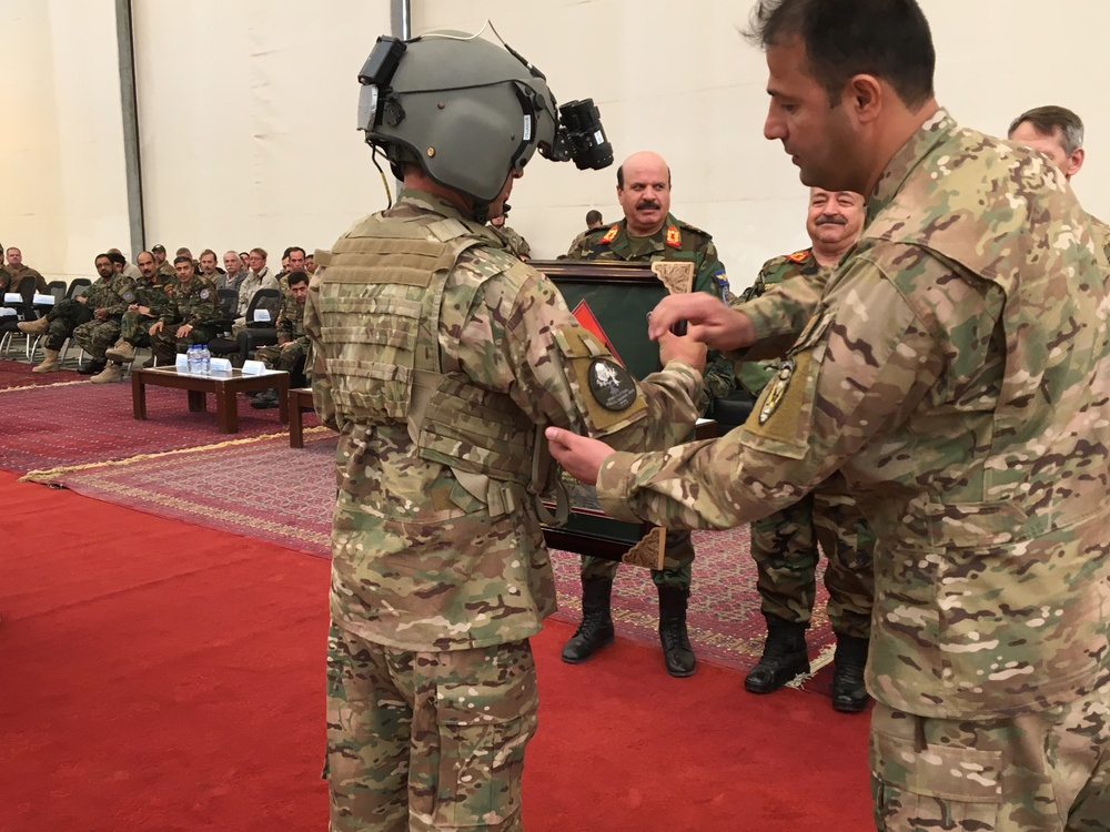 Afghan Special Mission Wing graduates its seventh Green Platoon