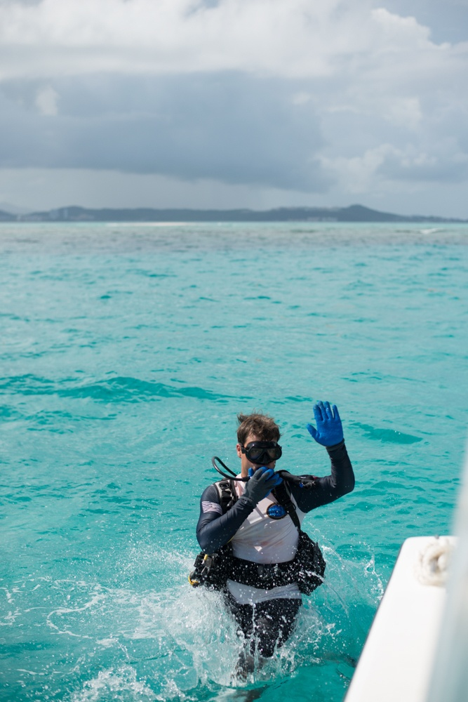 Veterans embark on new mission restoring reefs in Puerto Rico
