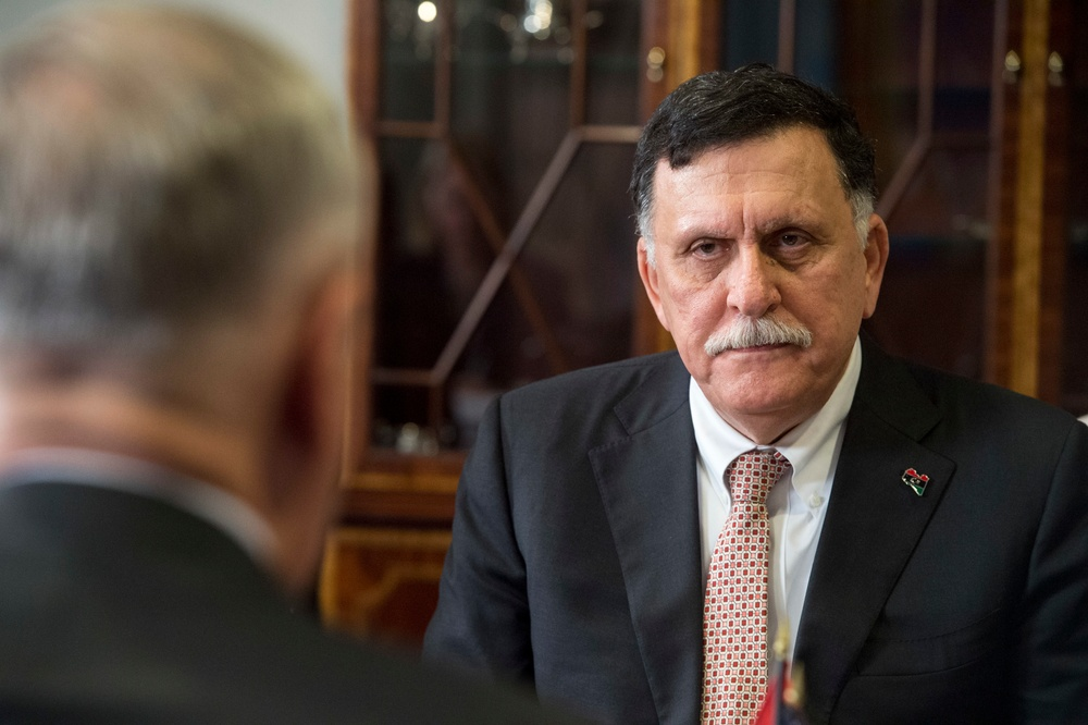 SD hosts Libya's prime minister