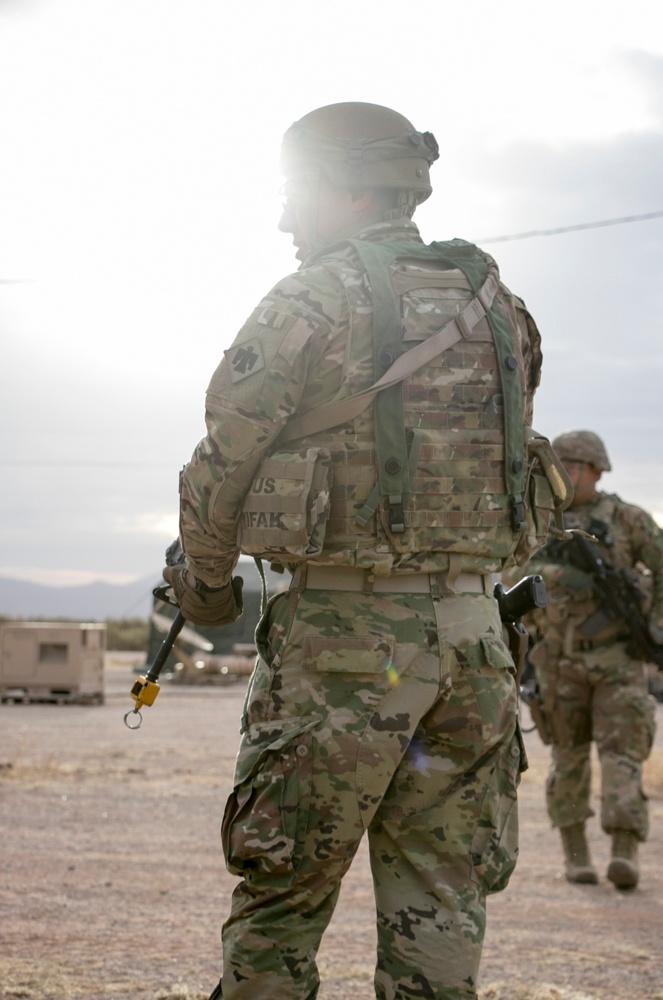 Oklahoma Cavalry unit wraps up final deployment training