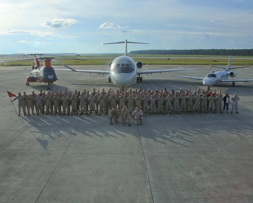 Historic Cherry Point transport squadron to transfer to western skies