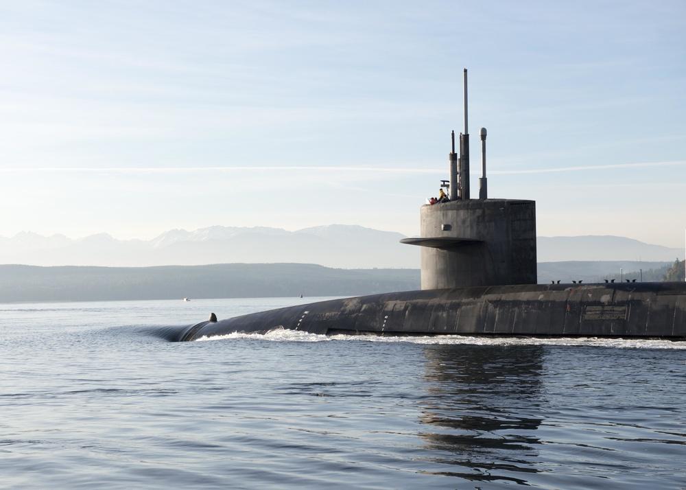 USS Nevada (SSBN 733) Returns Home