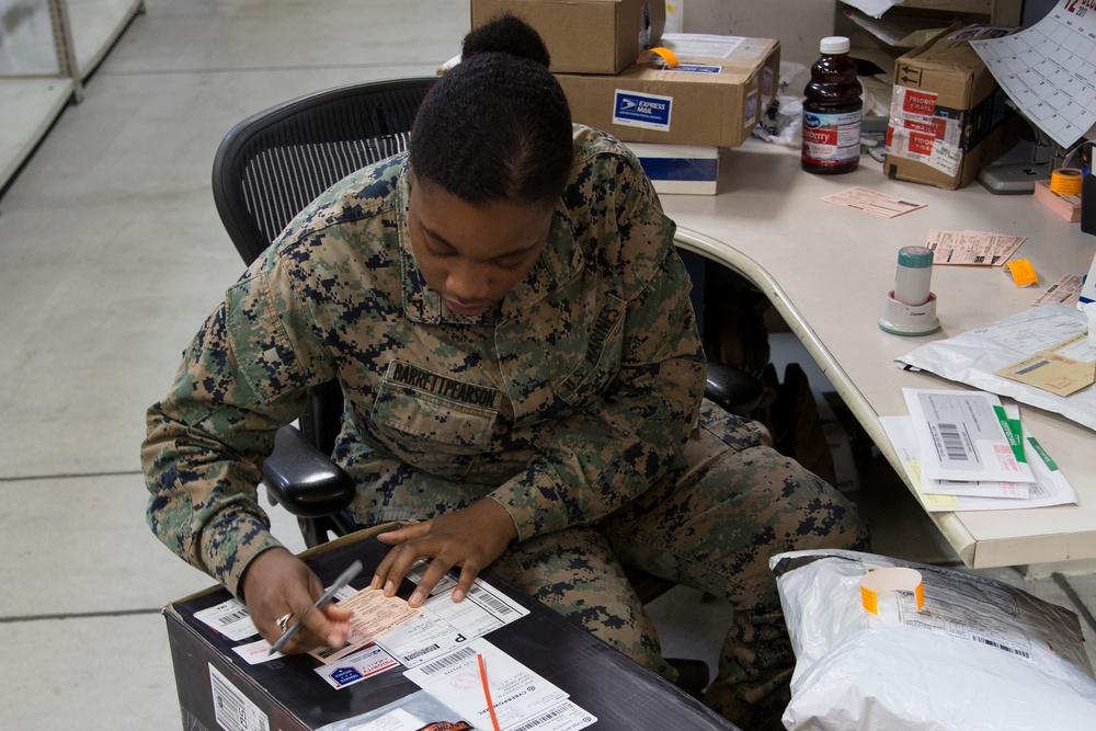 In the Life of Marines: Postal Clerk