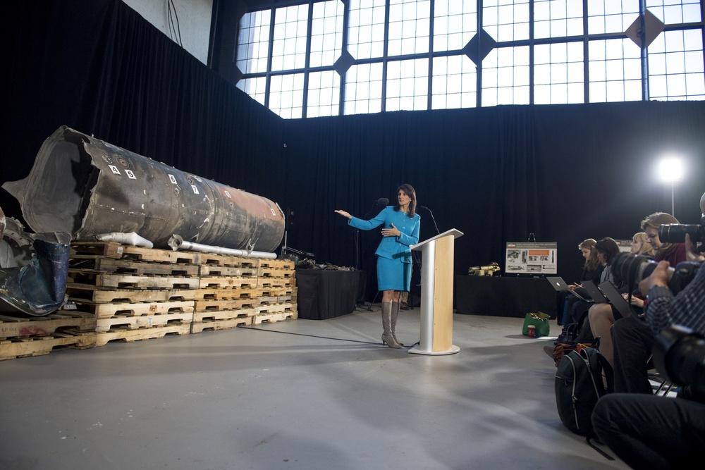 Press Conference Highlights Iran's UN Violations
