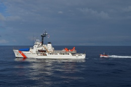 U.S. Coast Guard Cutter Seizes Nearly 7 Tons of Cocaine and Rescues Ocean Wildlife