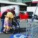Elderly evacuees