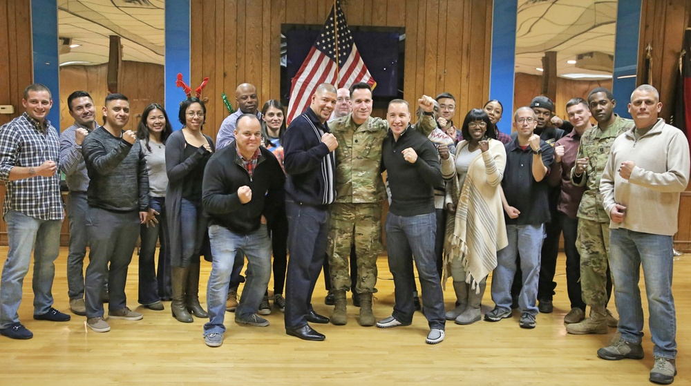Army Reserve unit reaffirms values through speaker's story