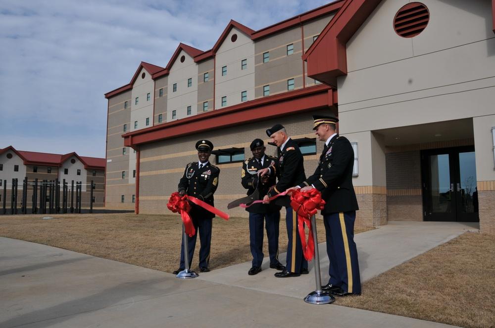 New Training Barracks