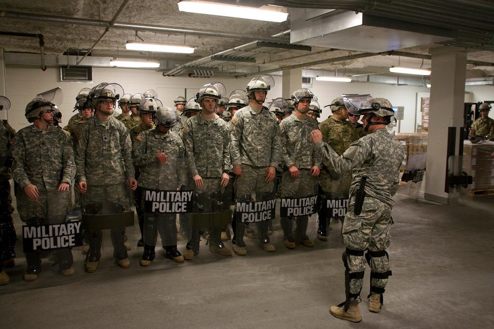 Kentucky Guardsmen support Presidential Inauguration