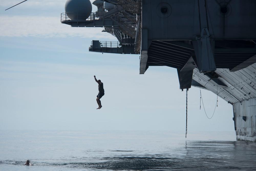 """""""USS Dwight D. Eisenhower"""