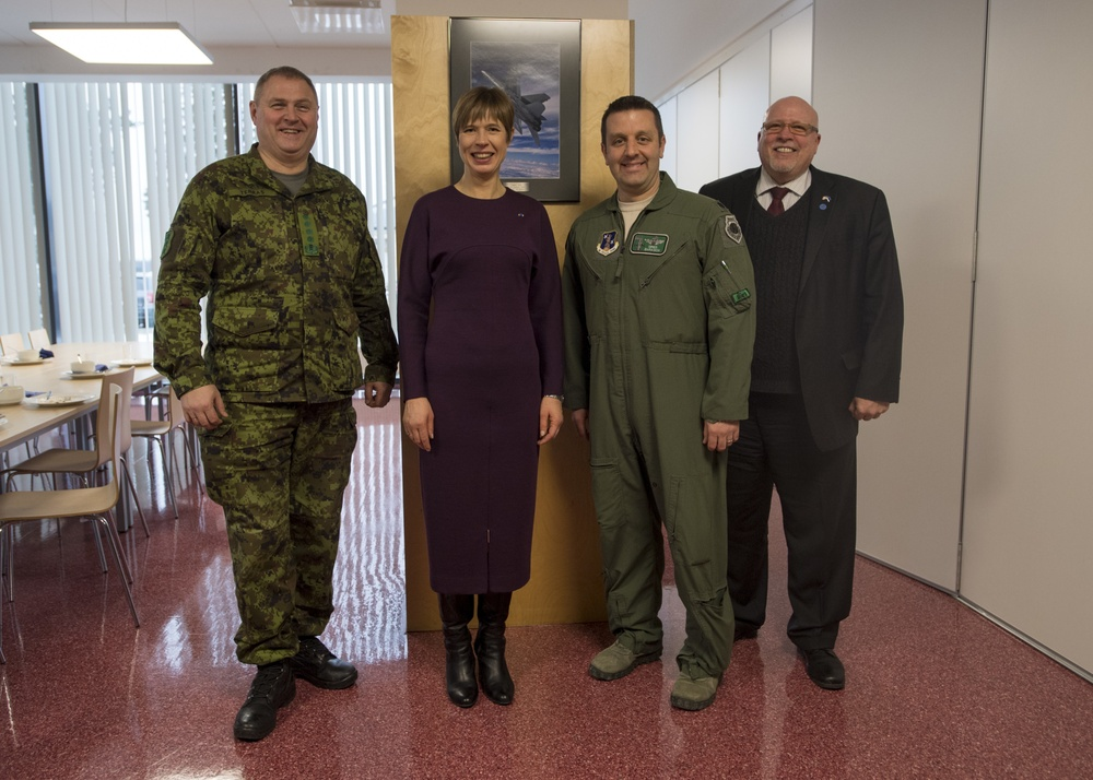 USAF deploys theater security package to Estonia