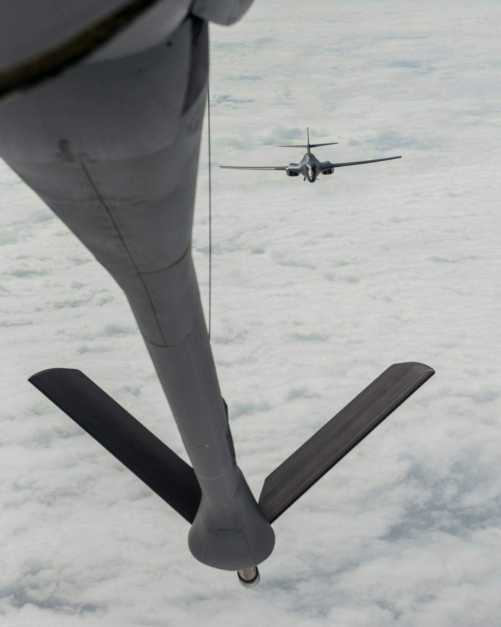 Patrolling the Pacific B-1B Lancer