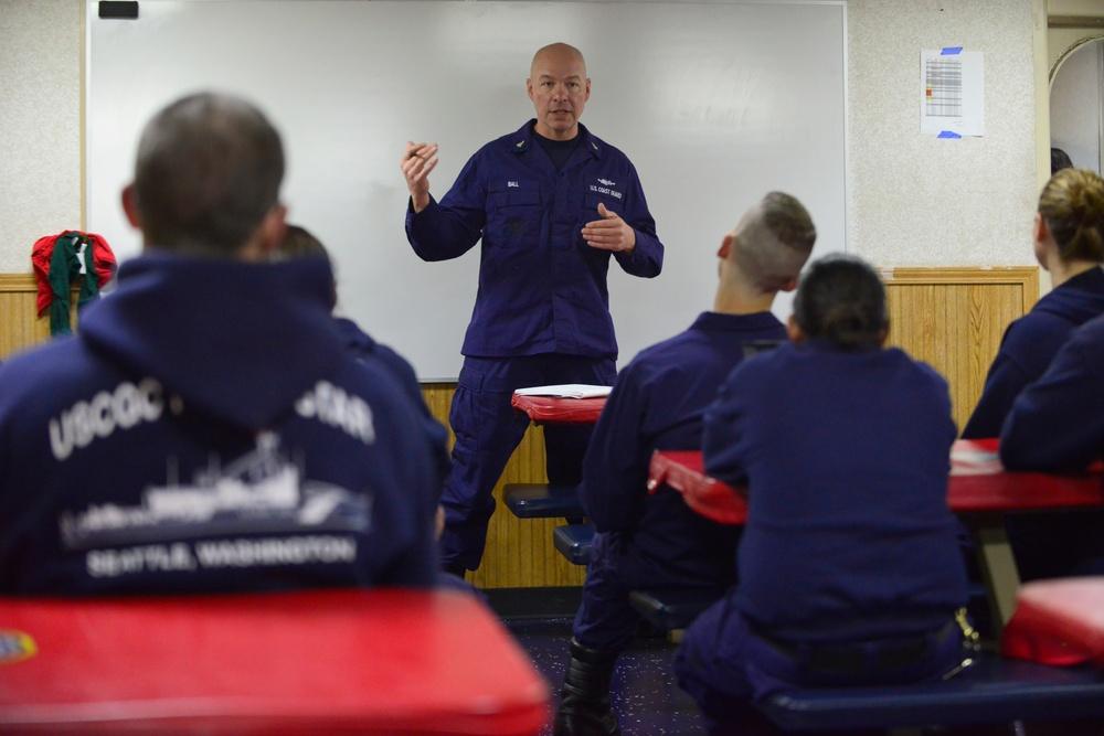 Coast Guard Cutter Polar Star transits toward Antarctica
