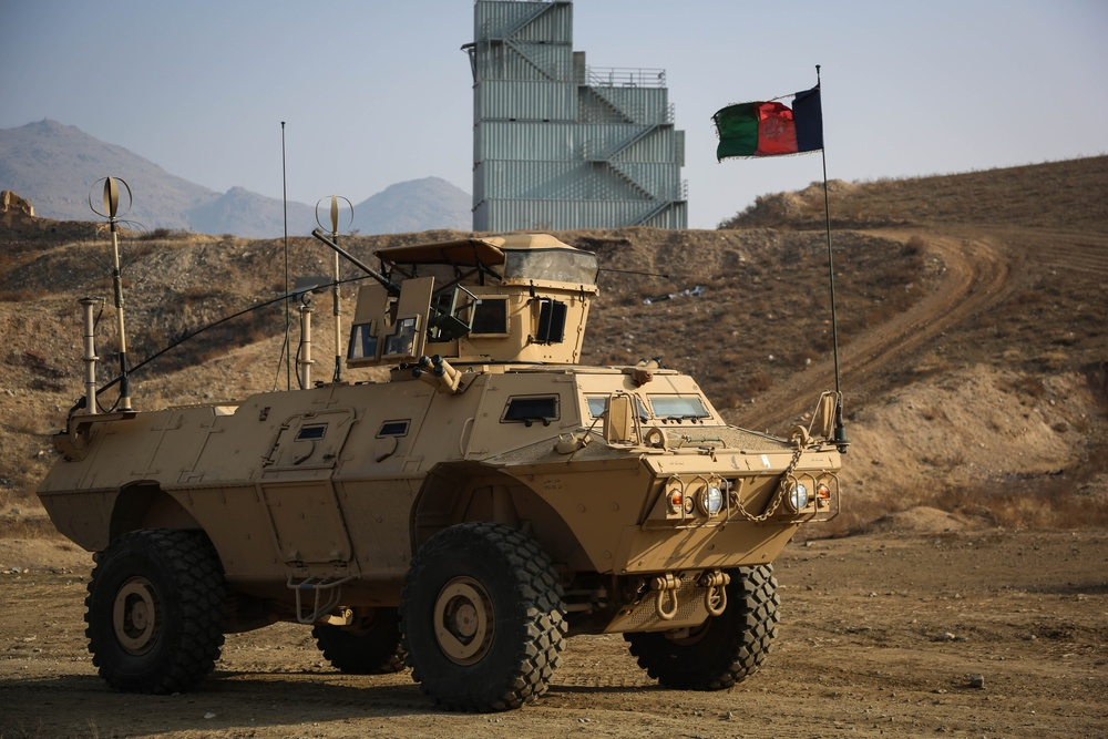 National Mission Brigade uses armored vehicles to overwhelm ISIS-K in Kabul