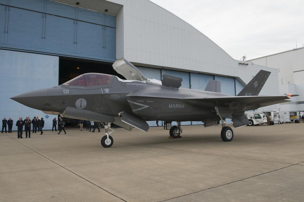First Italian F-35B arrives at NAS Pax River