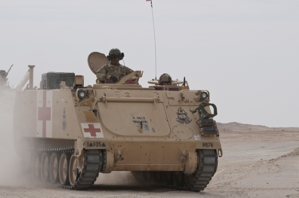 M113 Maneuvers During Army Day