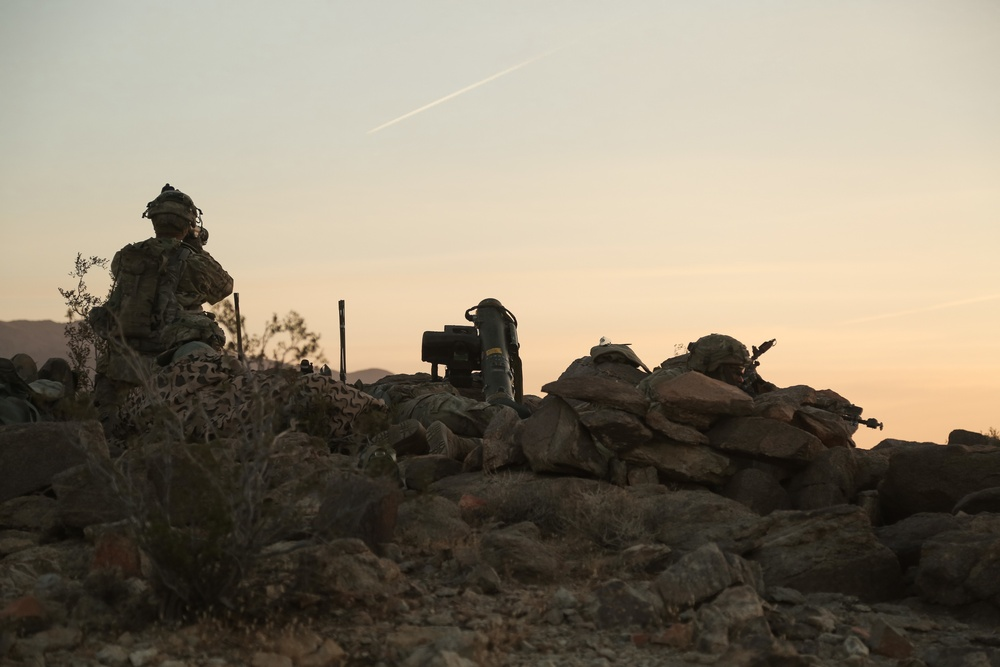 Cav Scouts Establish an Observation Post