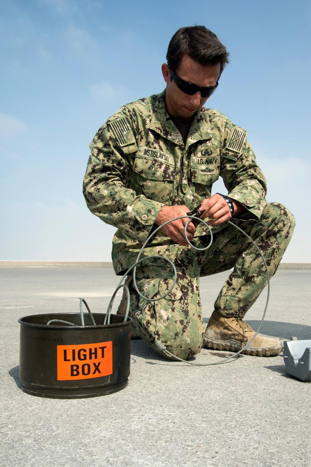 Neon Response 18: Surface Demolition Operations / Landmine Clearance Procedures
