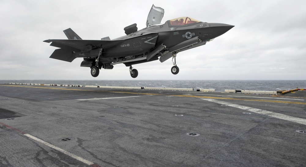 Historic First: F-35B deploys with Amphibious Assault Ship