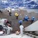 USS Antietam conducts replenishment-at-sea