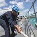 USS Antietam arrives in Guam