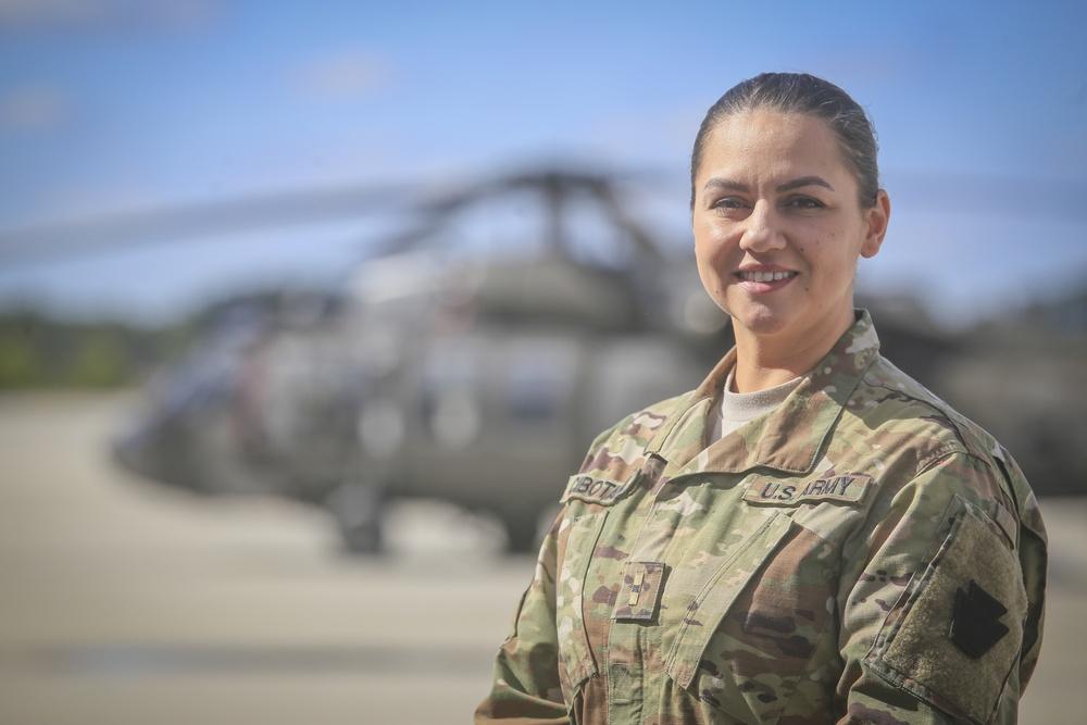 Warrant Officer Elizabeth Cibotario