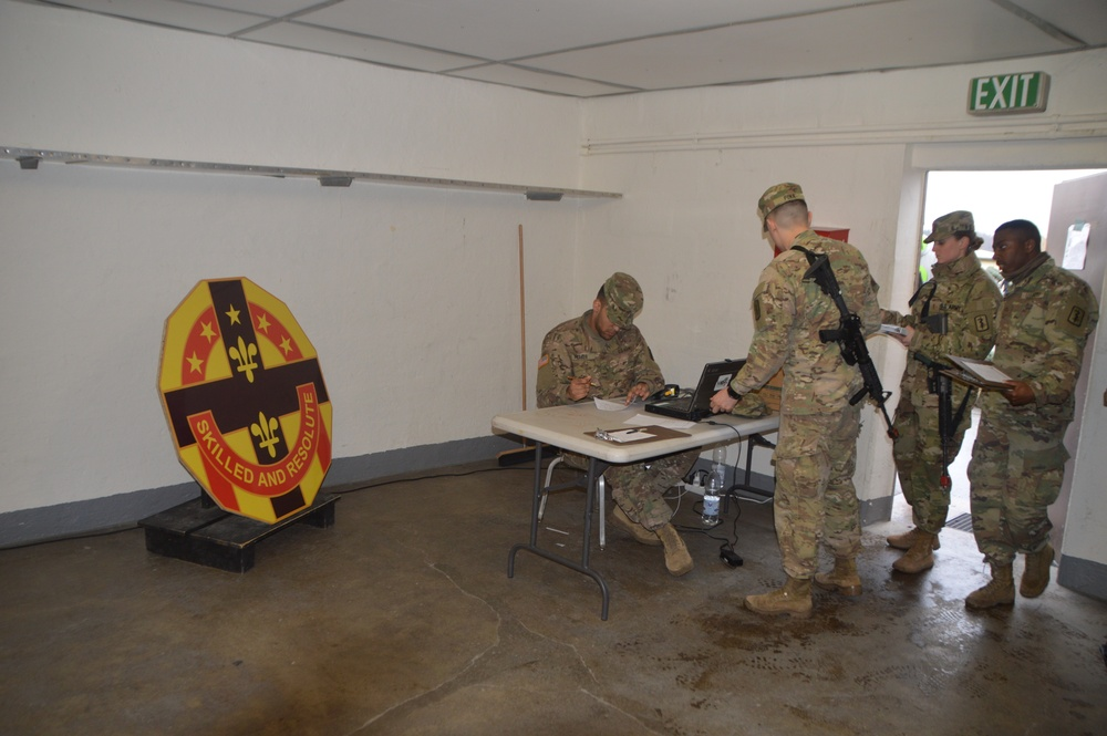 USAREUR Spring Expert Field Medical Badge 2018- Opening Ceremony