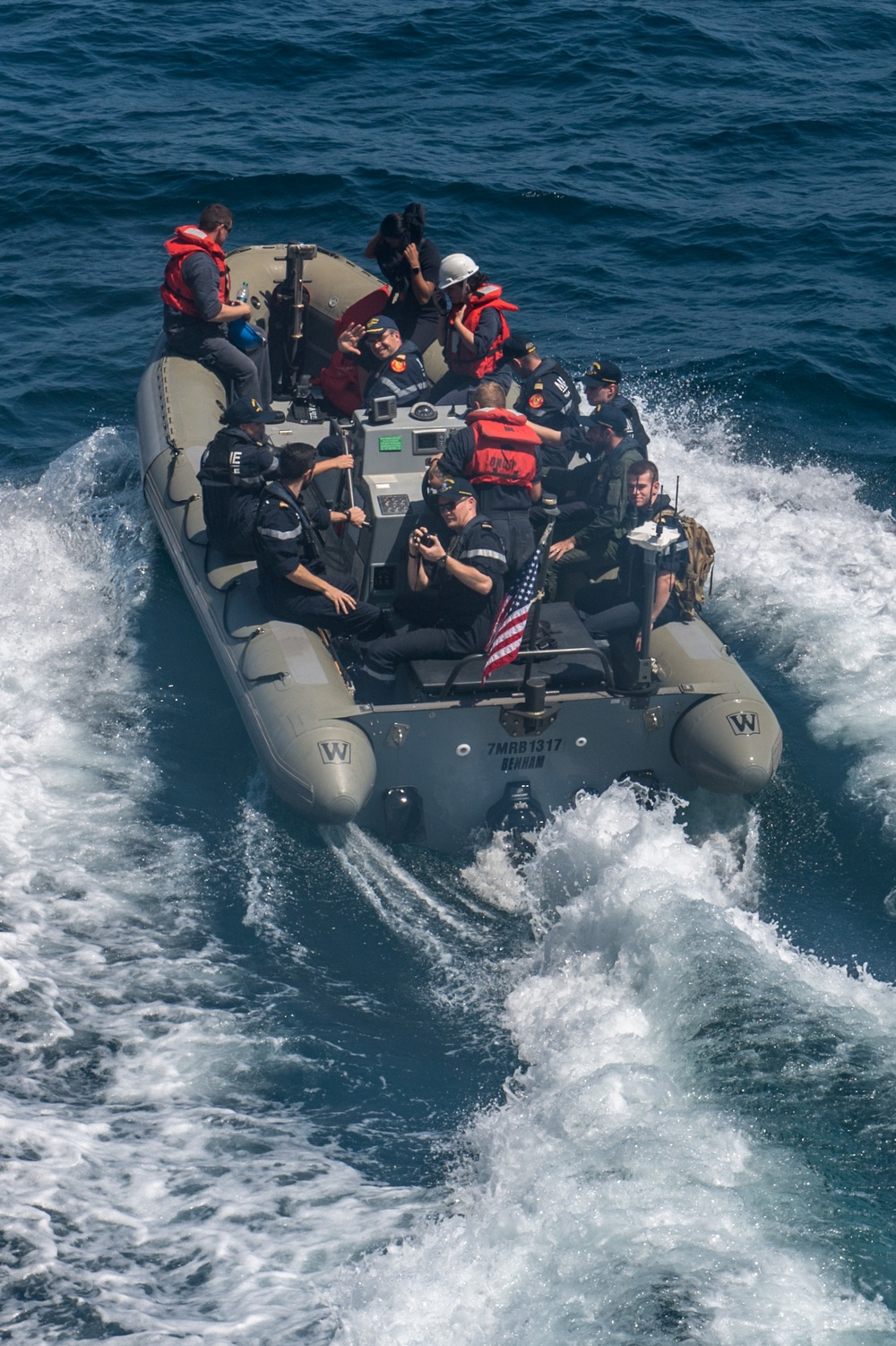 USS Halsey deployment