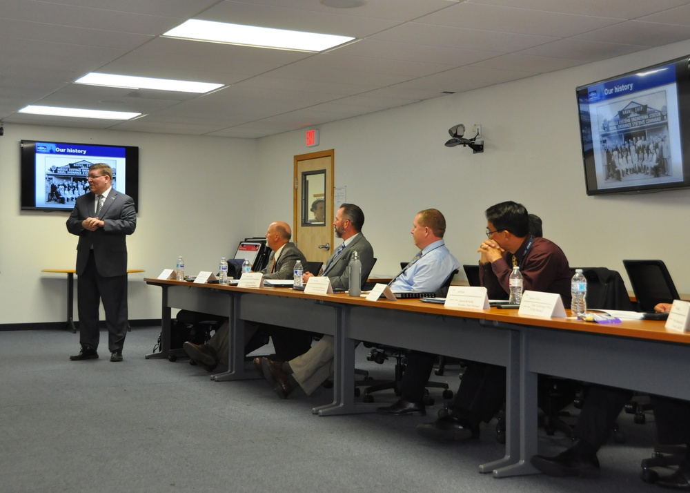 NSWC PHD meets with CSUCI