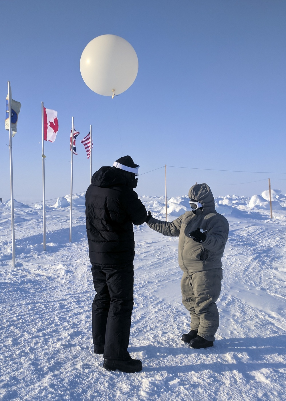 ICEX Weather and Ice Team Forecasts in Dynamic Arctic Environment