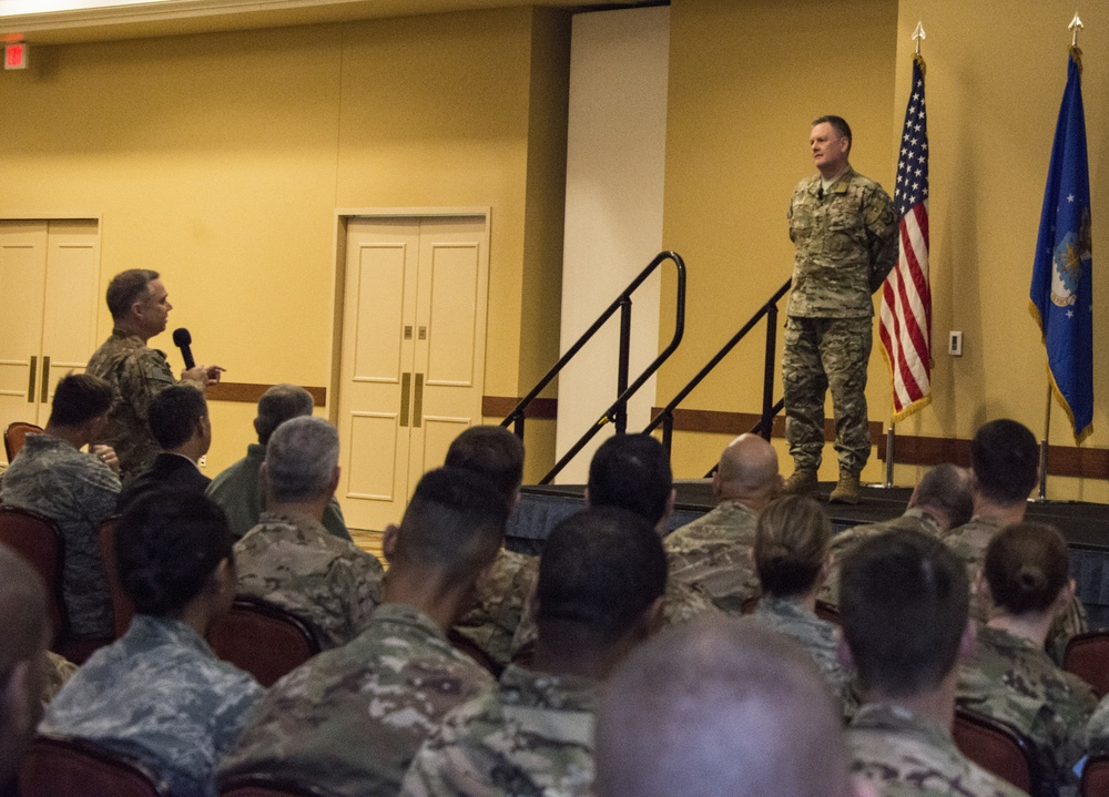 Leading from the top; AFSOC commander and command chief host all call
