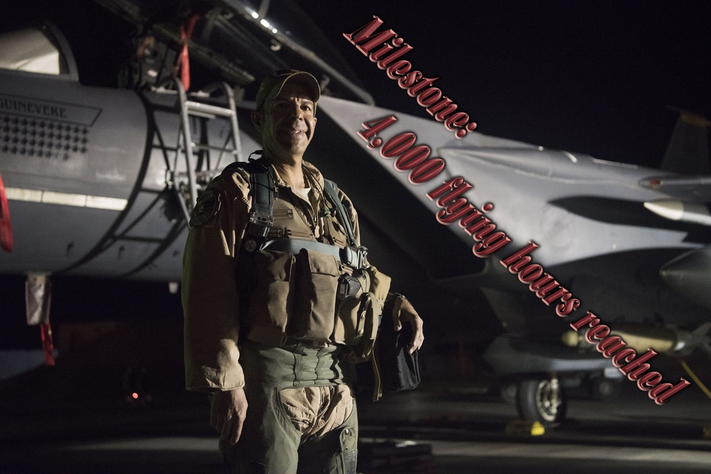 Soaring high: Red Tail WSO, mentor reaches 4,000 flying hours