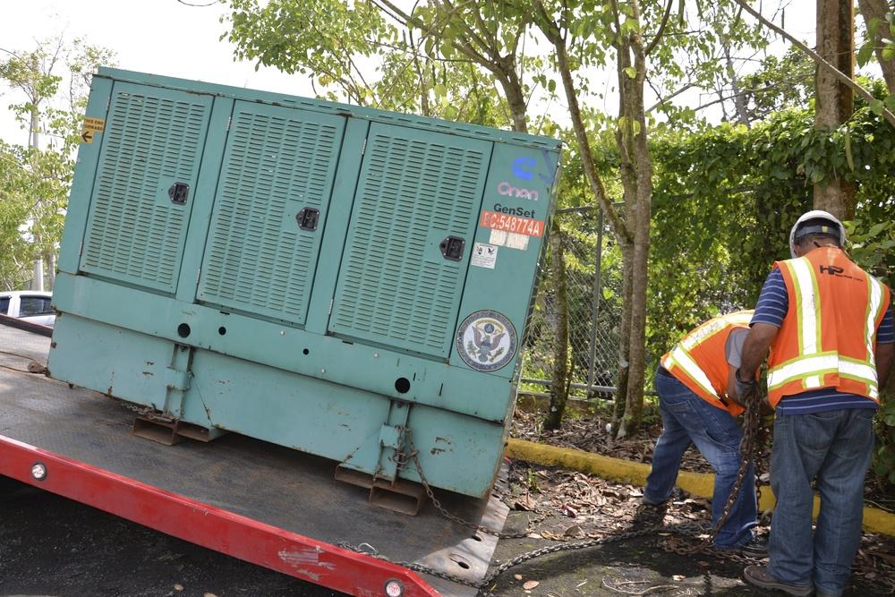 Corps installs 2000th generator in Puerto Rico
