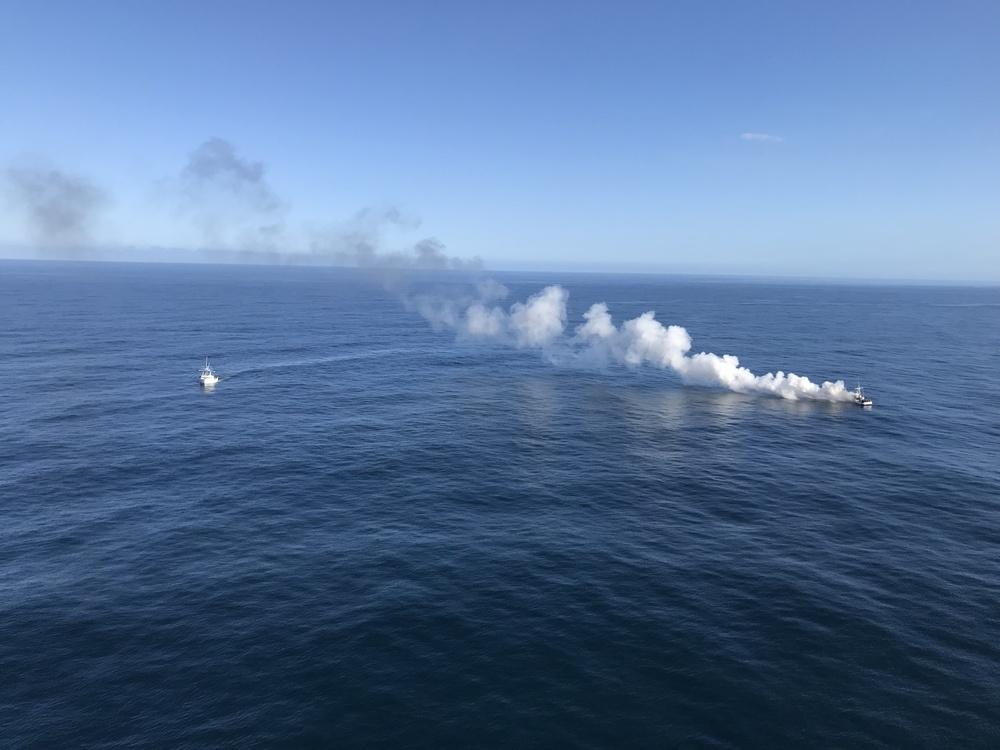 Coast Guard responds to vessel fire near Trinidad