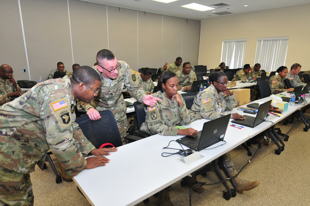 VIARNG personnel conduct NetUSR training