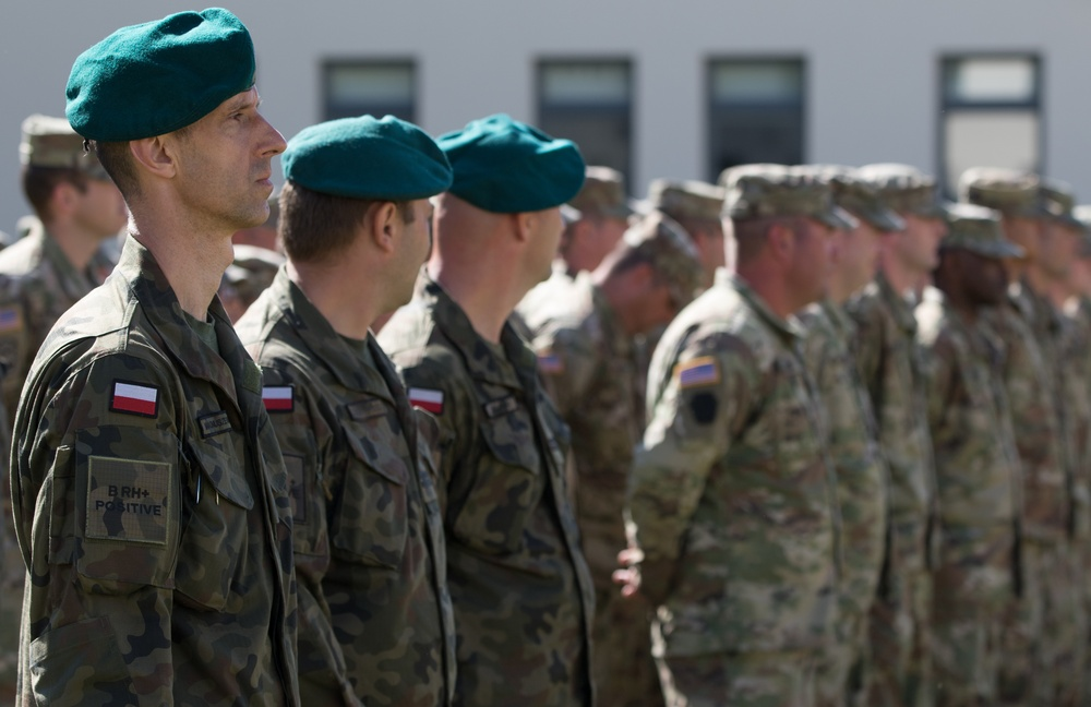 Polish, US Engineers kickoff Resolute Castle 2018