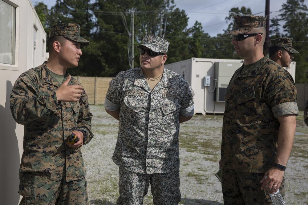 Special Purpose Marine Air-Ground Task Force refines humanitarian skills