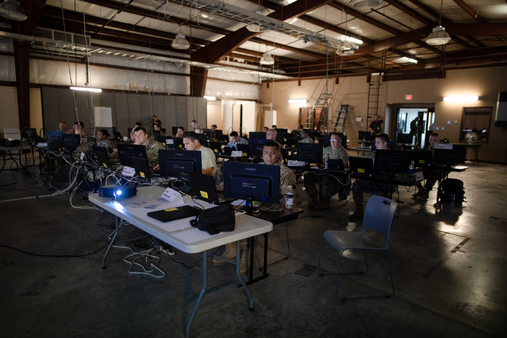 National Guard enhances readiness through cyber exercise at Camp Atterbury