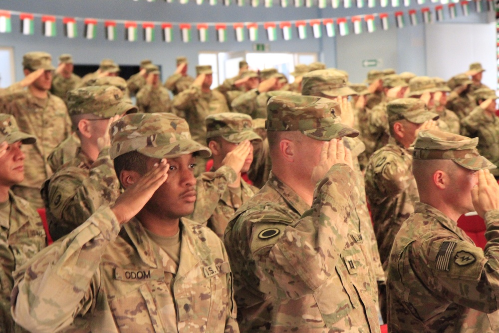 America's Thunder takes command as ARCENT Force Field Artillery Headquarters