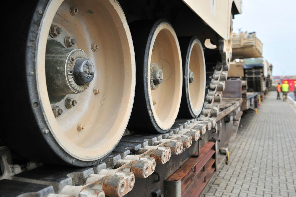 Armor rolls out from Antwerp