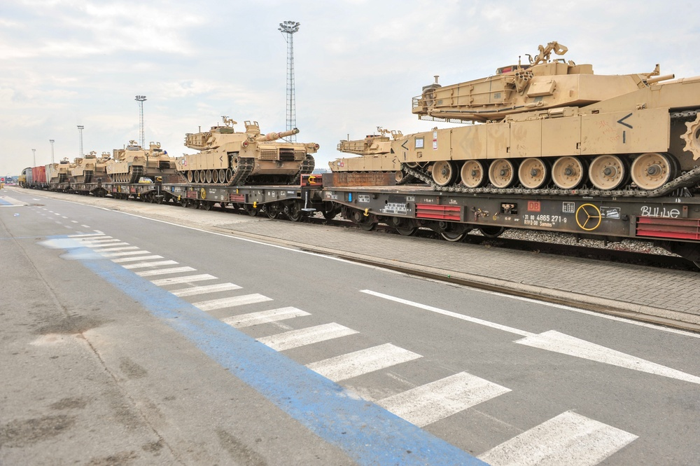 Armor rolls out of Antwerp