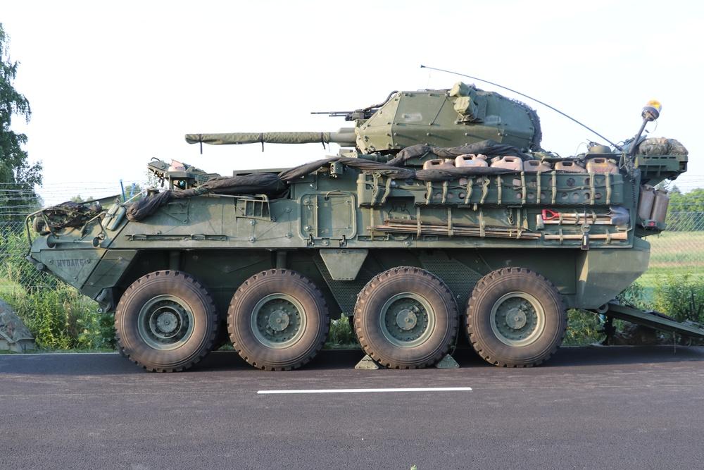 Stryker ICVD gets firepower upgrade