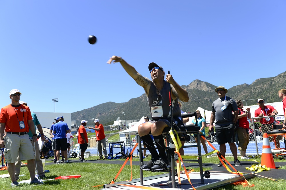 USSOCOM competes in the 2018 Warrior Games